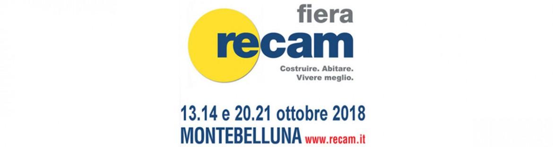 Saremo presenti alla fiera Recam